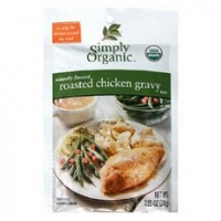 Simply Organic Roasted Chicken Gravy, Seasoning Mix (12x0.85Oz)