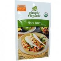 Simply Organic Fish Taco Seasoning (12x1.13Oz)