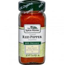 Spice Hunter Organic Ground Cayenne (6x1.5Oz)