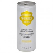 Kombucha Wonder Drink Asian Pear Ginger (24x8.4Oz)