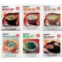 Kikkoman Instant Soup Value PackMiso-Tofu Soup (12x1.05Oz)