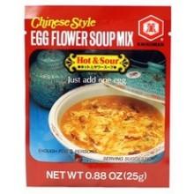 Kikkoman Egg Flower Soup Hot & Sour (12x0.88Oz)