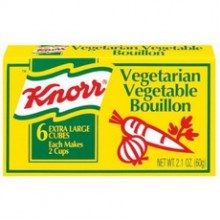 Knorr Vegetarian Vegetable Bouillon (24x2.13Oz)