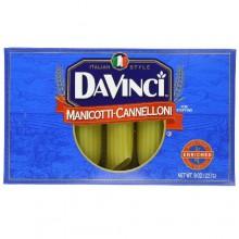 Da Vinci Cannelloni-Manicotti Pasta (12x8Oz)