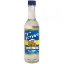 Torani Sugar Free Vanilla Syrup (6x12.7Oz)