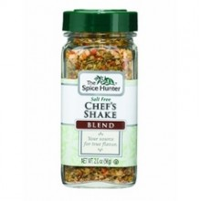 Spice Hunter Salt Free Chefs Shake BlendJars (6x2Oz)