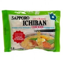 Sapporo Ichiban Japanese Style Noodles Chicken Soup (24x3.5Oz)