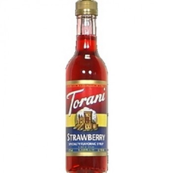 Torani Flavoring Strawberry Syrup (6x12.7Oz)