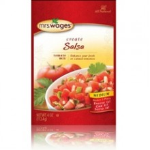 Mrs. Wages Salsa Tomato Mix (12x4Oz)
