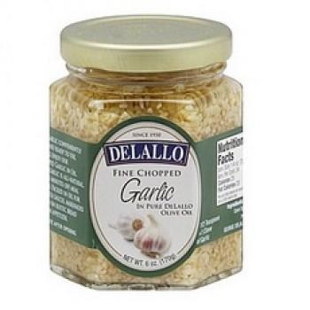 De Lallo Garlic Chopped In Oil (12x6Oz)