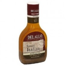 De Lallo Sweet Italian Dressing With Romano Cheese (6x16Oz)