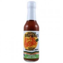 Brother Bru Bru's Organic African Chili Pepper Sauce (6x5Oz)