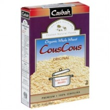 Casbah Whole Wheat CouscousOriginal (12x10Oz)