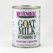 Meyenberg Evaporated Goat Milk (12x12Oz)