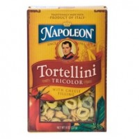 Napoleon Tricolor Tortellini With Cheese Filling (12x8Oz)