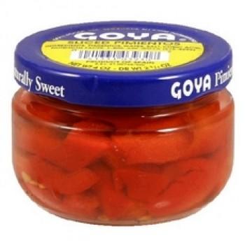 Goya Sliced Pimientos (12x4Oz)