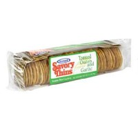Sesmark Foods Toasted Onion & Garlic Savory Rice Thins (12x3.2 Oz)