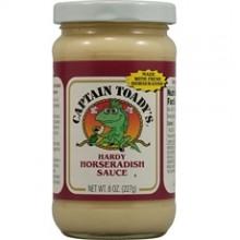 Captain Toady's Hardy Horseradish Sauce (12x8 Oz)