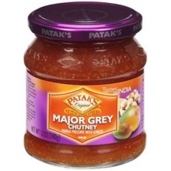 Patak's Major Grey Chutney (6x12Oz)