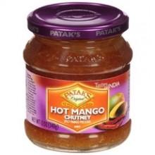 Patak's Hot Mango Chutney (6x12Oz)