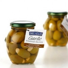 De Lallo Garlic Stuffed Olives (6x7Oz)