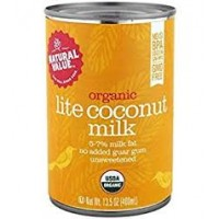 Natural Value Organic Coconut Milk Lite (12x12/13.5 Oz)