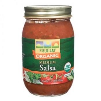 Field Day Organic Medium Salsa (12x16Oz)