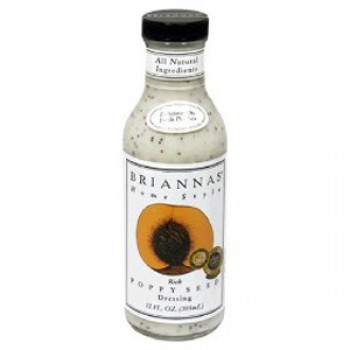 Brianna's Home Style Salad DressingRich Poppy Seed (6x12Oz)