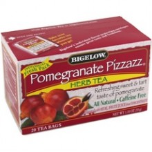 Bigelow Pomegranate Pizzazz Herbal Tea (6x20 Bag )