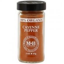 Morton & Bassett Organic Cayenne Pepper (3x2Oz)