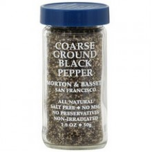 Morton & Bassett Fine Ground Black Pepper (3x1.8Oz)