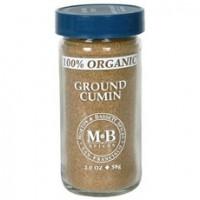 Morton & Bassett Organic Ground Cumin (3x2Oz)