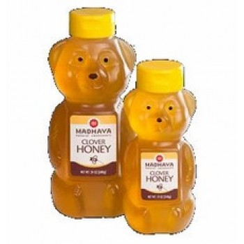 Madhava Honey Bear (6x12 Oz)