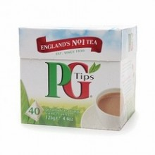 Pg Tips Pyramid Black Tea 40 Ct (6x4.4 Oz)