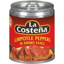 La Costena Chipotle Peppers In Adobo Sauce (24x7Oz)