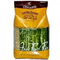 Lotus Foods Organic Jade Pearl Rice (6x15Oz)