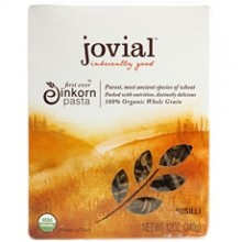 Jovial 100 % Organic Whole Grain Einkorn Fusilli (12x12Oz)