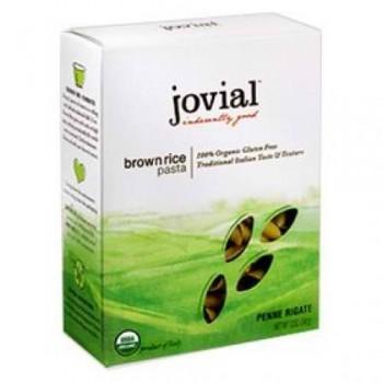 Jovial Organic Brown Rice Penne Rigate (12x12Oz)