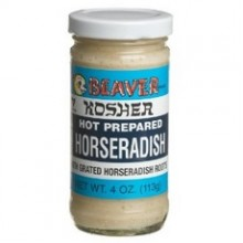 Beaver Kosher White Horseradish (12x4Oz)