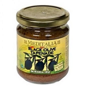 Meditalia Black Olive Tapenade (6x6.35Oz)