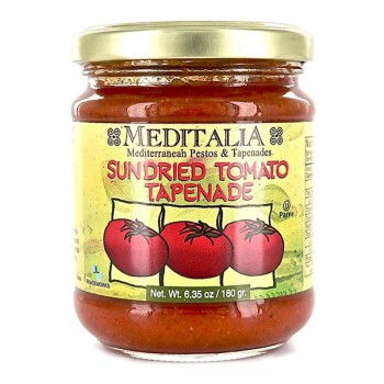 Meditalia Sun Dried Tomato Tapenade (6x6.35Oz)