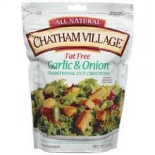Chatham Village Croutons Garlic & Onion (12x5Oz)
