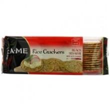Ka-Me Rice Crunch Cracker Black Sesame & Soy Sauce (12x3.5Oz)