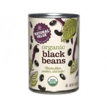 Natural Value Organic Black Beans (12x15Oz)