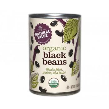 Natural Value Organic Black Beans (12x15Oz)