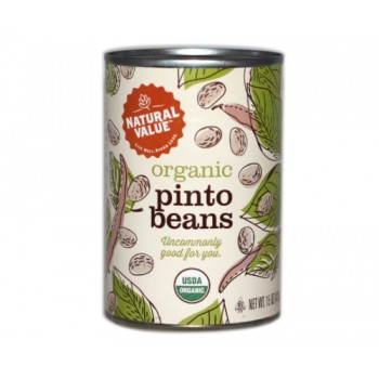Natural Value Organic Beans Pinto (12x15Oz)