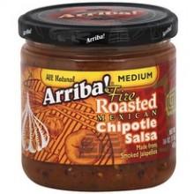 Arriba! Medium Fire Roasted Mexican Chipotle Salsa (6x16Oz)