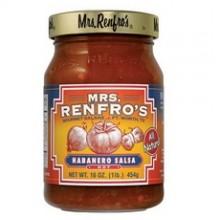 Mrs. Renfro's Hot Habanero Salsa (6x16Oz)
