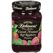 Dickinson PreservesPure Seedless Red Raspberry (6x10Oz)