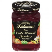 Dickinson Pacific Mountain Strawberry Preserves (6x10Oz)
